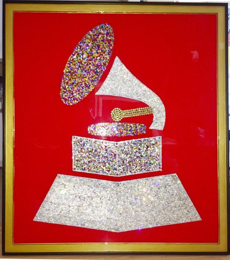 The Grand Grammy (Original Collage Artwork w/ 10.000+ Swarovski+Czech Crystals)