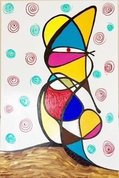 Ratatouille (Original Artwork On Wood Panel)