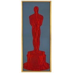 The Bloody Oscar (Original and Framed MixedMedia Artwork)
