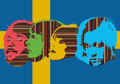 ABBA FOREVER AND EVER II (FLAG VERSION) (Limited Edition Of Only 30 Prints)