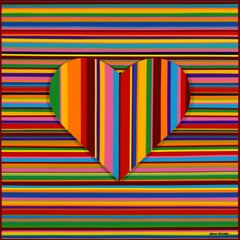 Colorful Rainbow Love I (Limited Edition of Only 30 Prints)