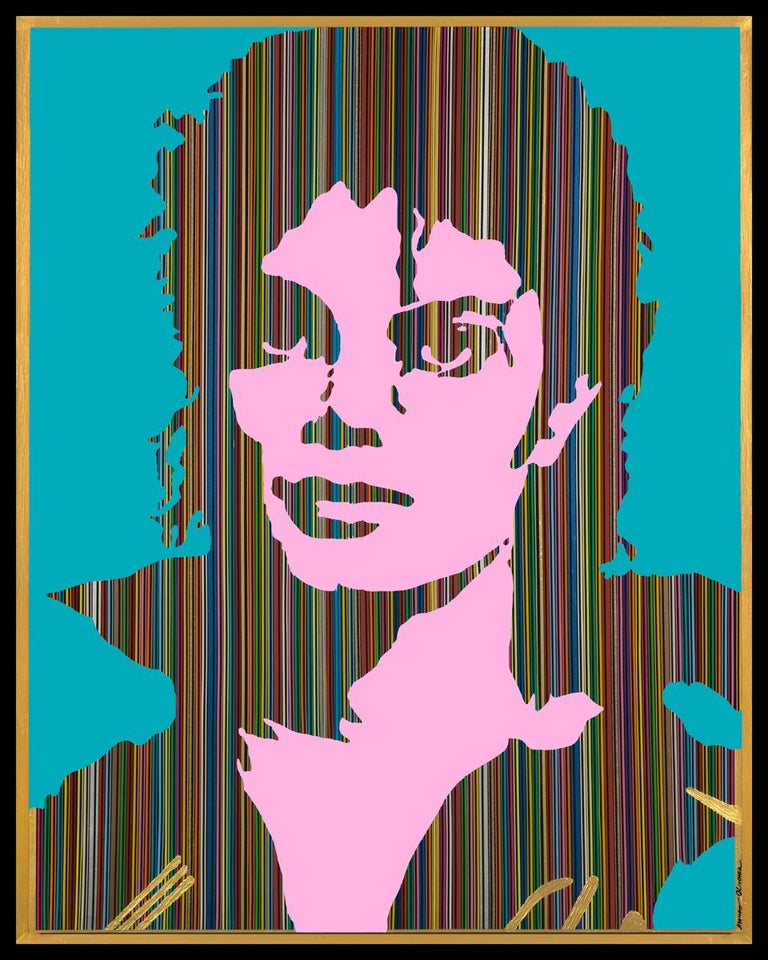 Mauro Oliveira Portrait Print - King of Pop III (Limited Edition Print)
