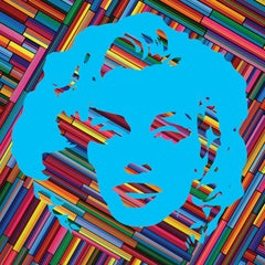 Marilyn Forever Blue (Limited Edition Print)