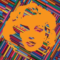 Marilyn Forever Orange (Limited Edition Print)