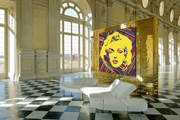 Marilyn Forever Yellow (Limited Edition Print)  For Sale 1