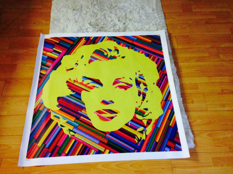 Marilyn Forever Yellow (Limited Edition Print)  For Sale 2