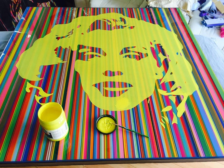 Marilyn Forever Yellow (Limited Edition Print) For Sale 4