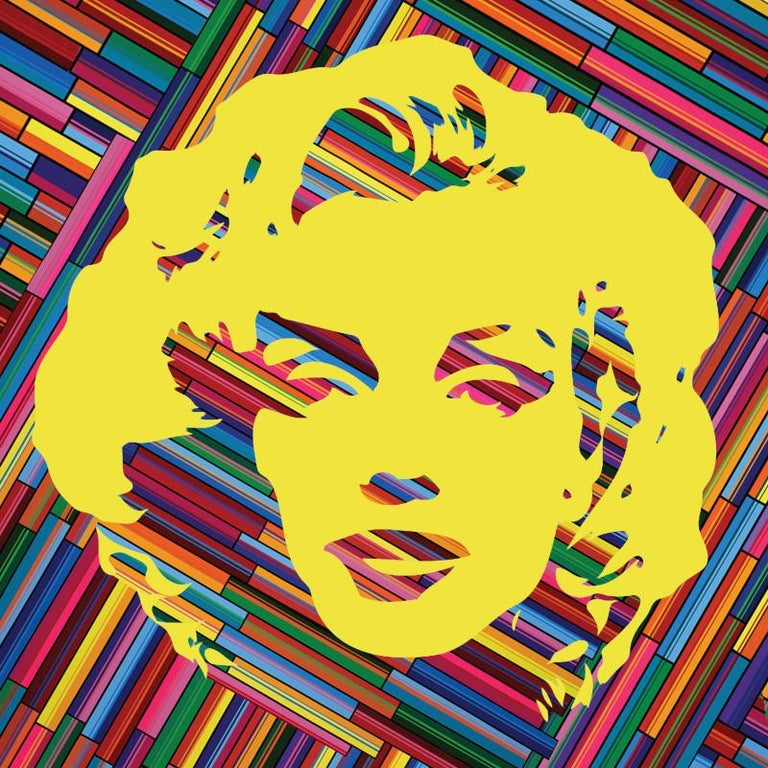 The one and only Marilyn Monroe as you have never seen. On this series, the artist used all the colors of the rainbow to celebrate her life and legacy.   Limited edition of 30 museum quality giclee prints on PAPER, signed and numbered by the artist.