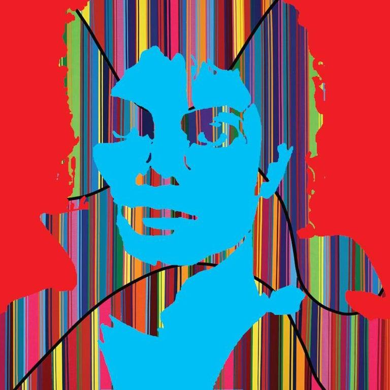 Mauro Oliveira Portrait Print - MJ: Super Pop III (Limited Edition Print)