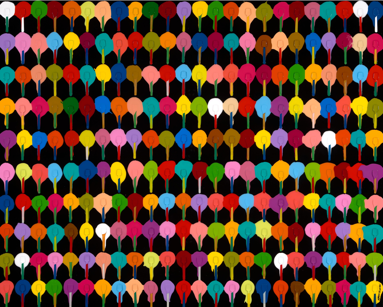 Colorful Napoli Gelato Festival (Limited Edition Print)