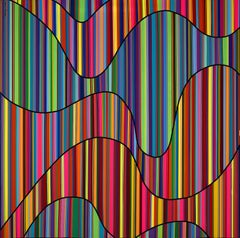 Rainbow Waves I (Limited Edition Print)