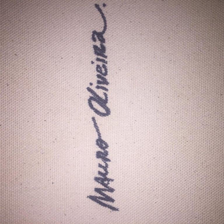 SUNNY OSCAR I - GREEN/ORANGE - (Limited Edition Print) For Sale 2