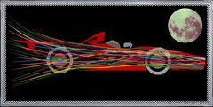 Colorful and Supersonic Formula 1000 (Limited Edition of only 30 Canvas Prints)