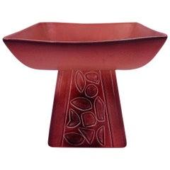 Mauve Ceramic Vase by Roselane of Pasadena