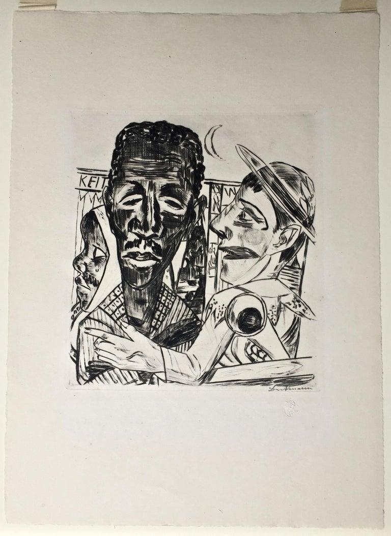 Der Neger (The Negro) - Print by Max Beckmann