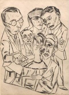 Der Zeichner in Gesellechaft (The Draftsman in Society)