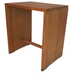 Max Bill Occasional Wood Stool or Table