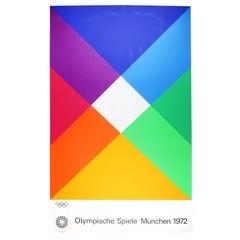 Max Bill Olympics Munich 1972 Serigraph