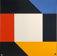 "1971 ""Ein Domberger Siebdruck-Kalender"" Max Bill Silkscreen"