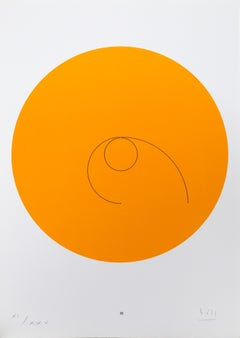 Constellations III, Minimalist Lithograph by Max Bill 1974
