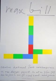 Max Bill Exhibition - 1960s - Serigraph - Contemporary