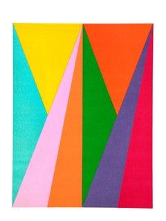 Prisma - Original Lithograph by Max Bill - 1975