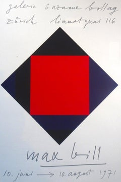 Two pieces of Max Bill - Serigraph - Contemporary