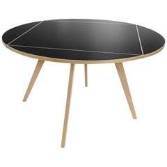 Max Bill, Square Round Table, Solid Maple