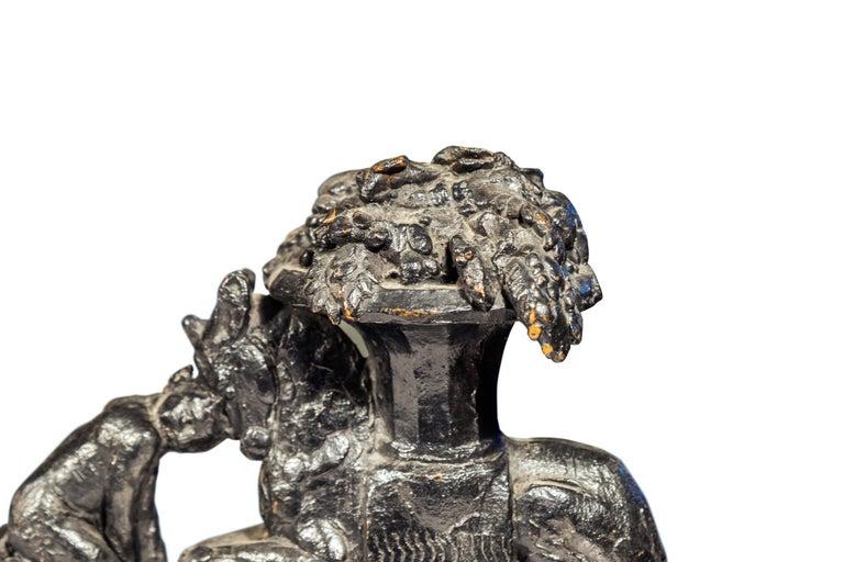 French Max Blondat, Bronze Sculpture, France, circa 2000