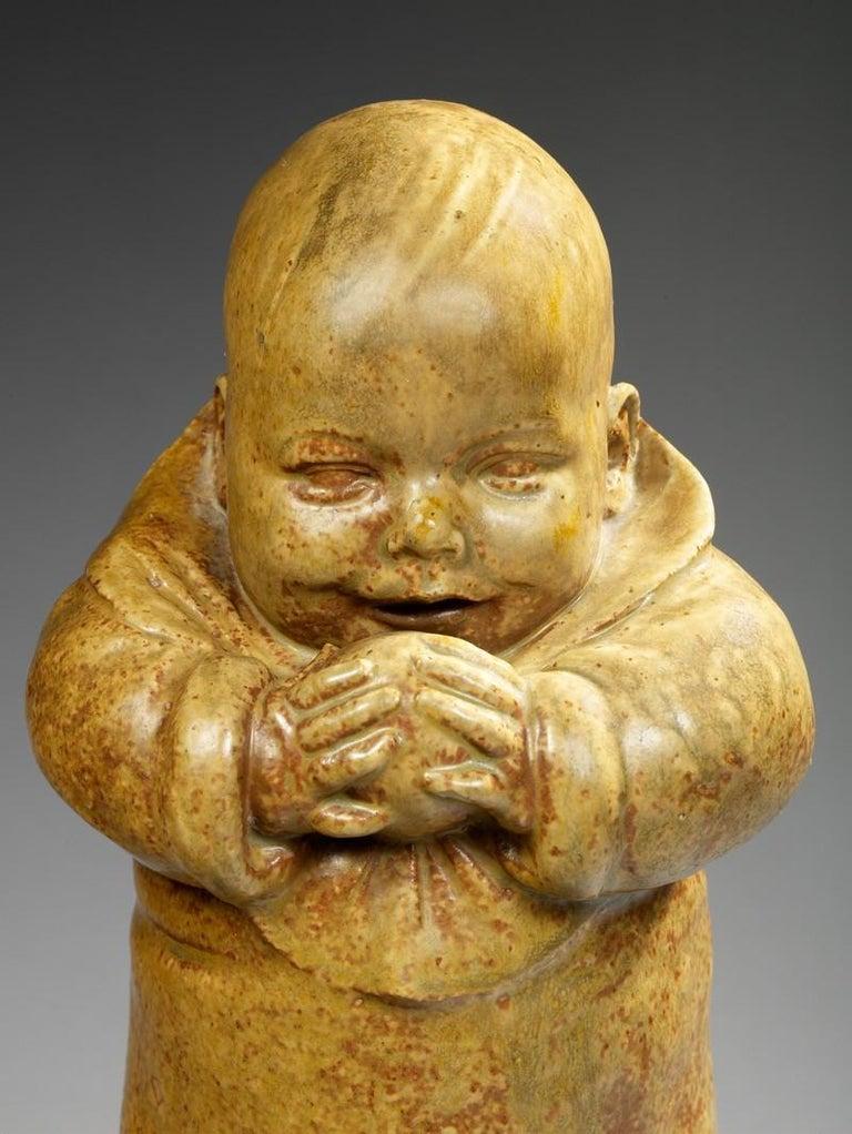 20th Century Max Blondat French Art Nouveau Sculpture,