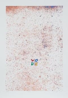 Love, Pop Art Serigraph