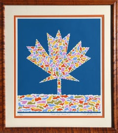 Maple Leafs Forever, Silkscreen by Max Epstein