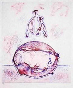 Après-moi le XX° siècle - Lithograph by Max Ernst - 1971