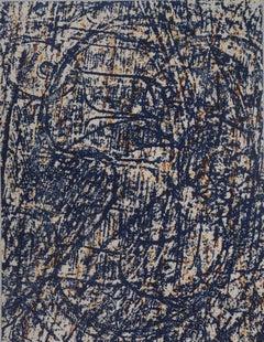 Blue Birds - Original lithograph (Leppien/Spies #89d), 1962