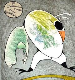 Composition IV, from: Birds in Peril  Oiseaux en péril -  German Surrealism