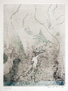 Le Mineral - 1960s - Max Ernst - Etching - Contemporary