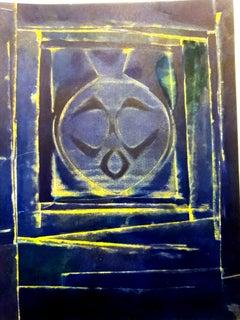 (after) Max Ernst - Blue Bird -  Stencil