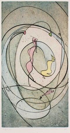 Untitled - Original Etching by Max Ernst - 1970