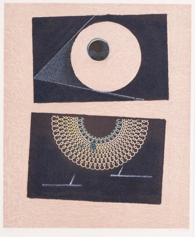 Veilleuse au Seuil de Nos Terrassements Dent Prompte VI - Print by Max Ernst