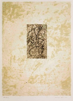 Zodiaque - Original Etching by Max Ernst - 1971