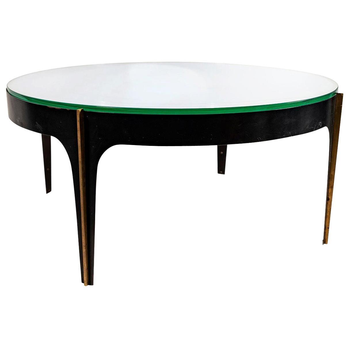 "Max Ingrand, Coffee Table ""1774"" Model, Fontana Arte, 1960"