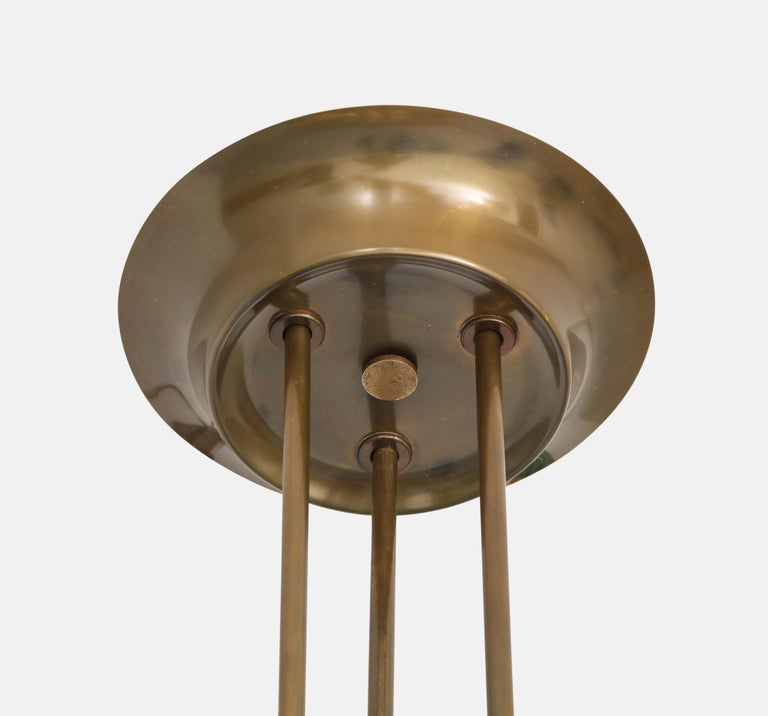 Italian Max Ingrand for Fontana Arte Chandelier Model 1508 For Sale