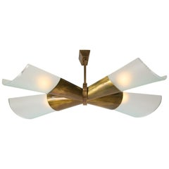 Max Ingrand for Fontana Arte Chandelier or Ceiling Light