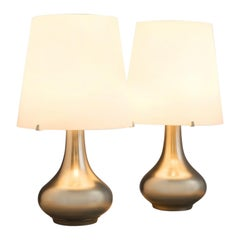 Max Ingrand for Fontana Arte Pair of Table Lamps, circa 1960