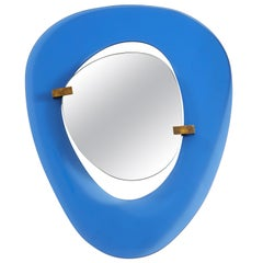 Max Ingrand for Fontana Arte Rare Asymmetrical Mirror