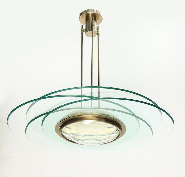 Brushed Max Ingrand Hanging Light For Sale