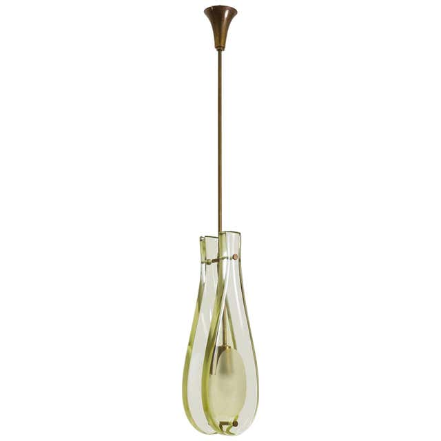 Glass Drop Pendant Model 2259