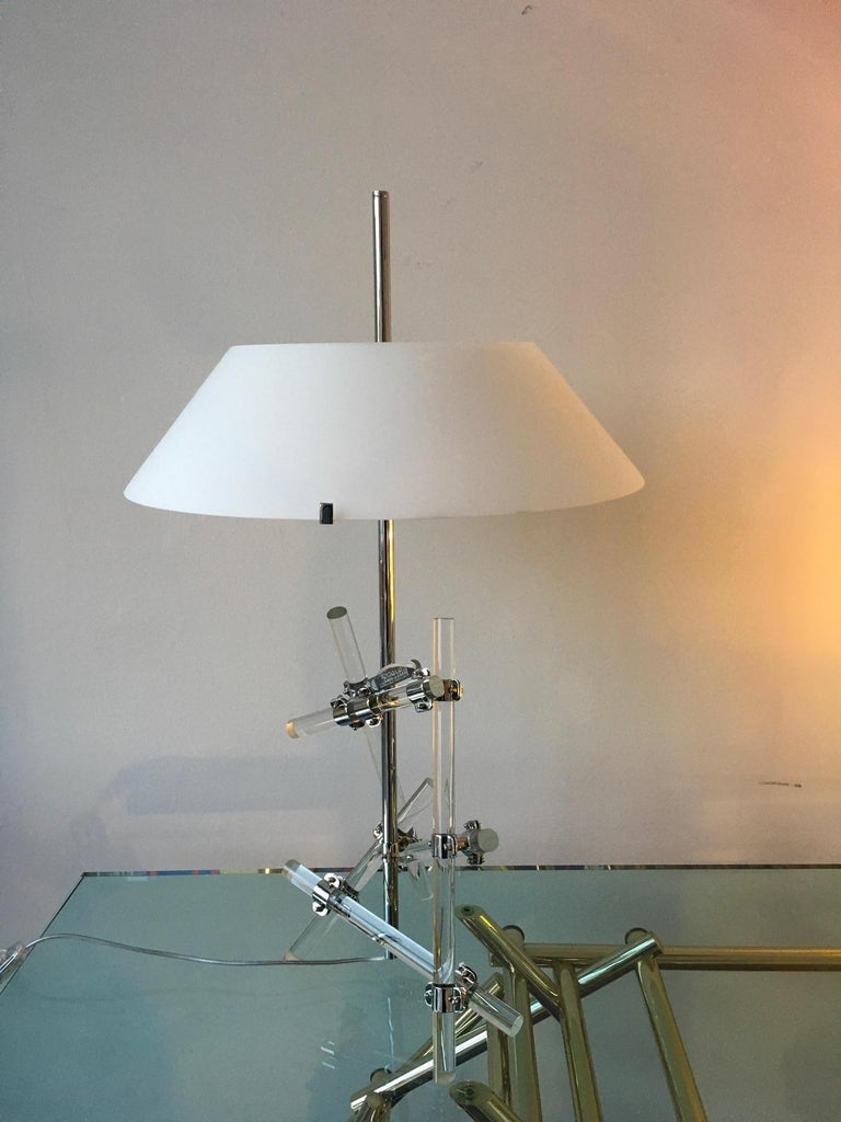 Modern Max Ingrand Table Lamp Model Ashangai Fontana Arte, Italy For Sale