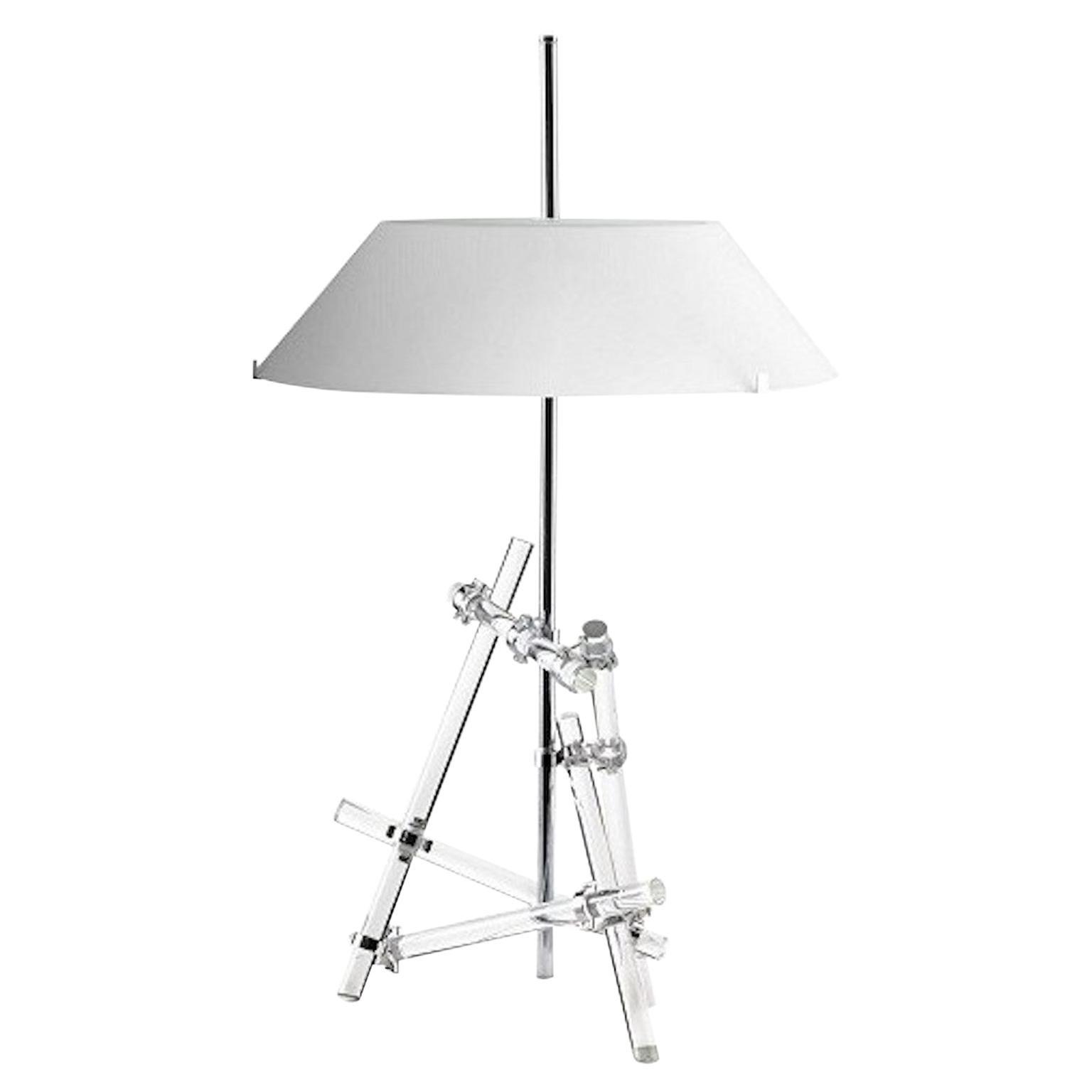 Max Ingrand Table Lamp Model Ashangai Fontana Arte, Italy