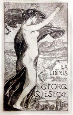 Ex libris Kommerzienrat Georg Giesecke